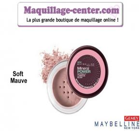 Blush Mineral Power Soft Mauve de Gemey Maybelline