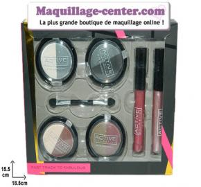 Coffret 6 maquillages Active