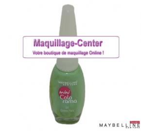Vernis à ongles Mini colorama Green park Gemey Maybelline