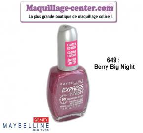 Vernis Express Finish N°649 Gemey Maybelline USA
