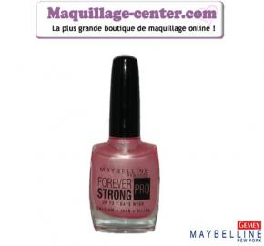 Vernis à ongles Foreverstrong Pro  N°01 Gemey Maybelline