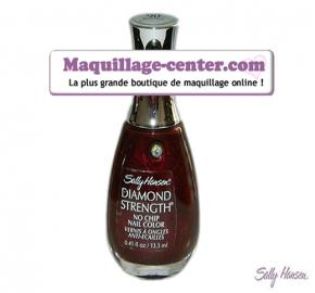 Vernis à ongles Diamond Strength Bordeaux Brilliant Sally Hansen