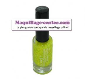 "Vernis à ongles ""Glow in the dark Jaune fluo transparent à paill"